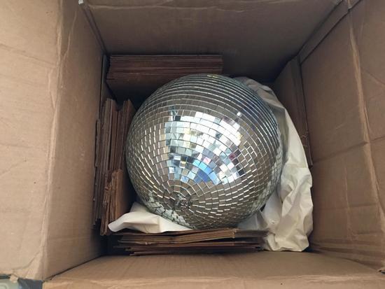 Small Mirrored Disco Ball