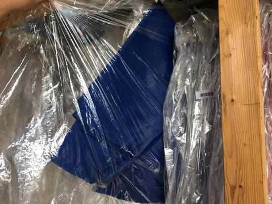 """Royal Blue 90"""" Round Cotton /Poly blend Table Cloths"""