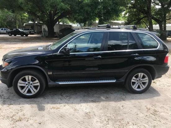 2006 BMW X5 Multipurpose Vehicle (MPV), VIN # 5UXFB53536LV26024