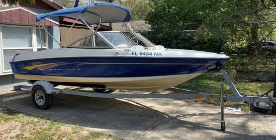 2007 Bayliner Boat & trailer