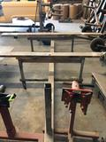 Rolling Metal Car Body Stand