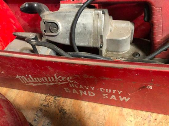 Milwaukee Heavy Duty Band Saw