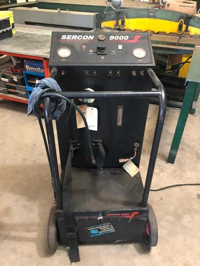Sercon 9000 Refrigerant Recovery System