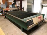 Vicon Plasma Table SR-45i with AirTak refrigerated air dryer, & associated PC