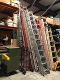 L Aluminum Extension Ladder