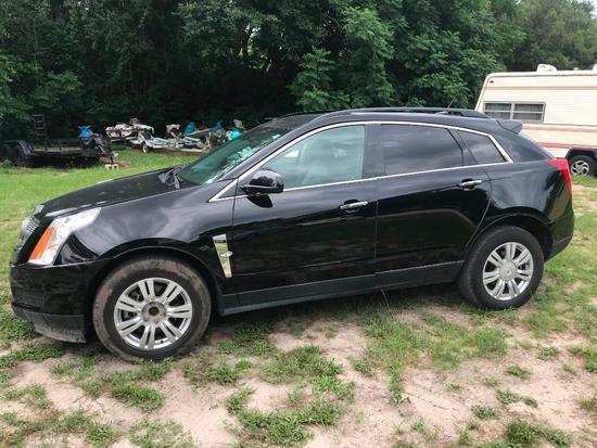 2012 Cadillac SRX Multipurpose Vehicle (MPV), VIN # 3GYFNGE33CS529392