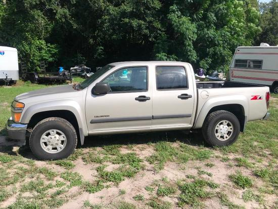 2004 Chevrolet Colorado Pickup Truck, VIN # 1GCDS136048111320