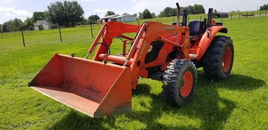 2007 Kubota M6040 Tractor