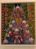 BECKER DO VALLE, ROSINA (Brazil, 1914 - 2000) TITLE: ?Desfile de Escola de Samba? MEDIUM: Oi