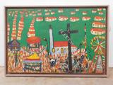 DA SILVA, JOSE ANTONIO (BRAZIL) DATE: 1960 MEDIUM: Oil on canvas