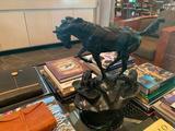 Bronze sculpture DUCHINI, VIVIANNE LEE MEDIUM: Bronze, 2/3, dark brown-fray patina