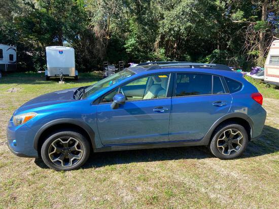 2015 Subaru XV Crosstrek Multipurpose Vehicle (MPV), VIN # JF2GPADC9F8283840
