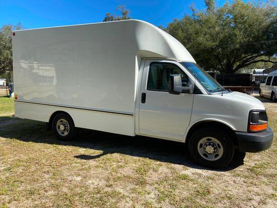 2014 Chevrolet Express Van, VIN # 1GB0G2CG4E1190049
