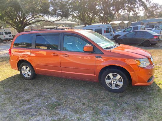 2011 Dodge Grand Caravan Van, VIN # 2D4RN3DG9BR697486