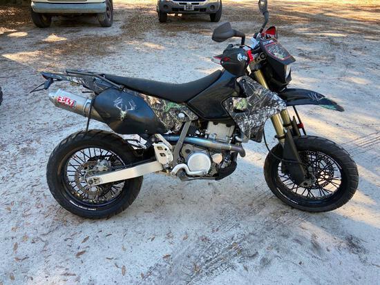 2005 Suzuki DR-Z400S Motorcycle, VIN # JS1SK44A352101424