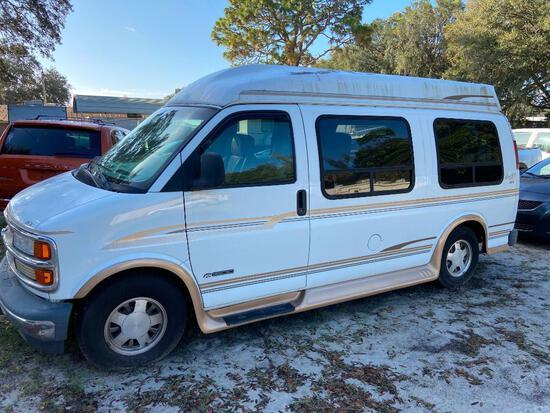 2000 Chevrolet Express Van, VIN # 1GBFG15R8Y1253421