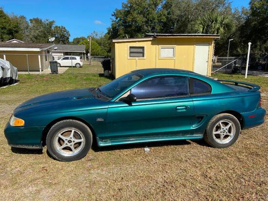 1996 Ford Mustang Passenger Car, VIN # 1FALP4045TF114599