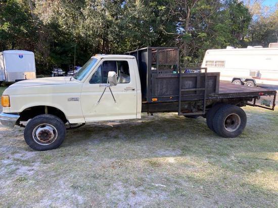 1993 GMC Sierra Pickup Truck, VIN # 1GTGC33K4PJ730177