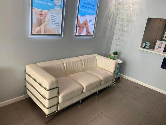 LARGE WHITE COUCH