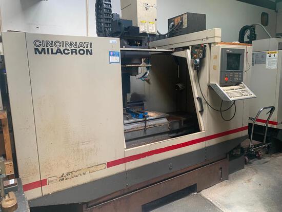 CNC vertical machining center, 1996