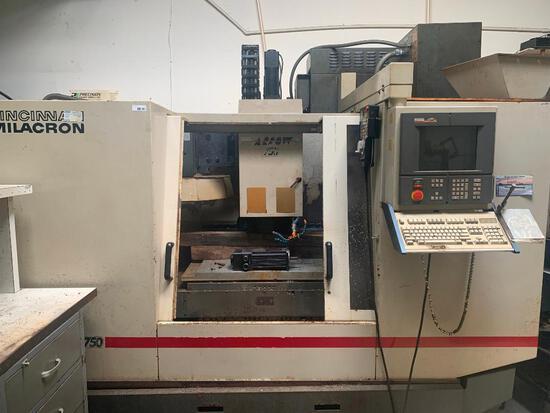 CNC vertical machining center, 1995