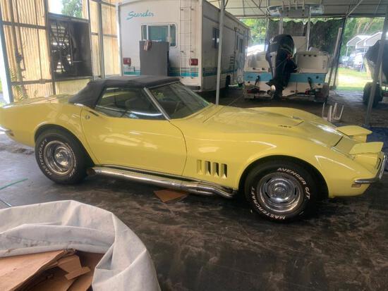 1968 Chevrolet Corvette VIN # 194678S427966