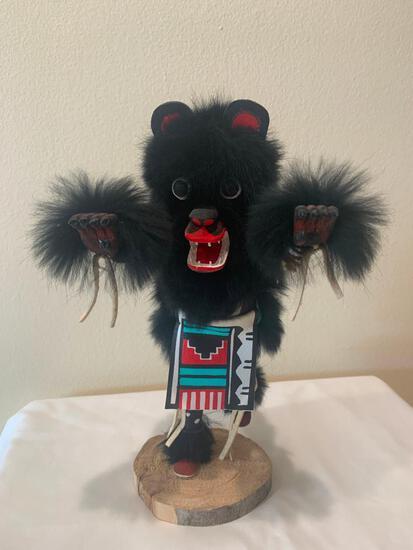 Black Bear Kachina, Artist: F. Largo