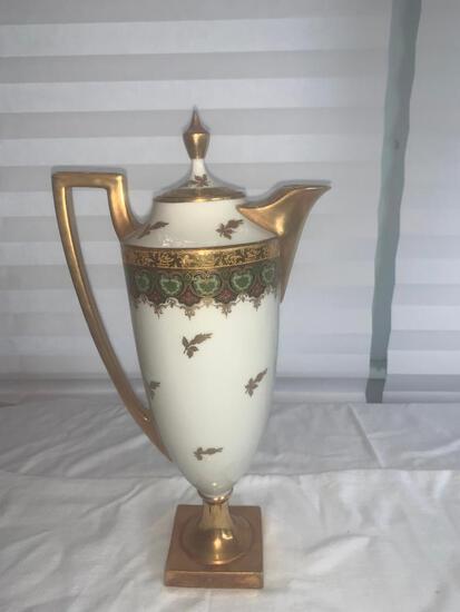 J Pouyat Limoges Coffee Pot