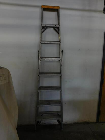 aluminum step ladder (8')