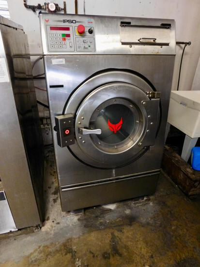 IPSO SS commercial washer model # PS40