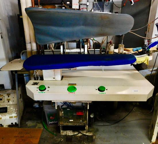 Unipress model 46X automatic legger utility press