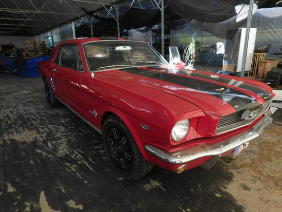 1966 Ford Mustang VIN# 6T07C132838