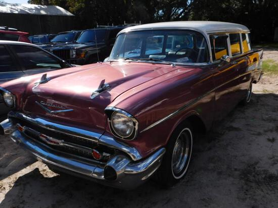 1957 Chevy Beauville Station Wagon VIN # VB57S267554