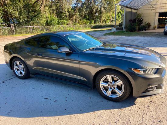 2016 Ford Mustang Passenger Car, VIN # 1FA6P8AM3G5215140
