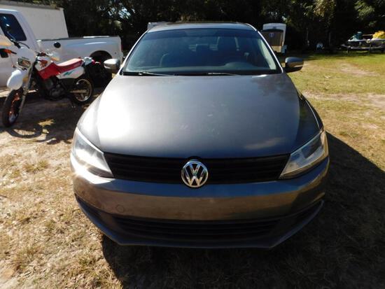 2012 Volkswagen Jetta Passenger Car, VIN # 3VWDP7AJ9CM398031