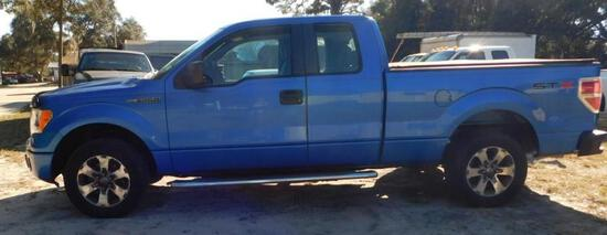 2012 Ford F-150 Pickup Truck, VIN # 1FTFX1CF4CFA10155
