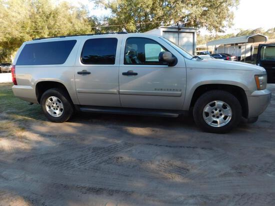 2009 Chevrolet Suburban Multipurpose Vehicle (MPV), VIN # 1GNFC16J49R211578