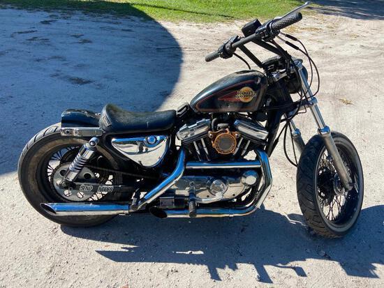 1992 Harley-Davidson XL 1200 Motorcycle, VIN # 1HD1CAP16NY205216