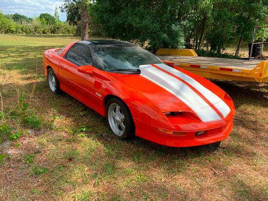 1994 Chevrolet Camaro Race Car, VIN # 2G1FP22P1R2106117 (Bill of Sale)