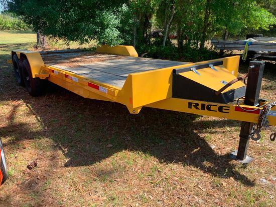 2017 Rice FMEH8220MR dual axle trailer