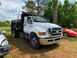 2008 Ford F-650 Truck, VIN # 3FRNF65C08V649832