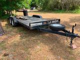 2010 Better Built Trailer Dual Axle Tilt Trailer