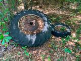 Lot of Bricks and tires