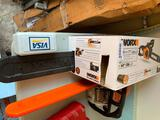 Worx electric chainsaw - new in box