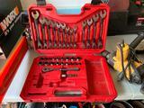 Misc. lot of Craftsman tools, Dewalt Hammer Drill, Porter Cable staple gun