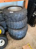 Lot of 4 Razr tires