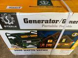 Steele portable generator - new in box