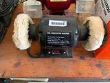 6 inch bench top buffer, 6 inch bench grinder with lamp