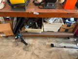 Lot of misc. items under table