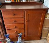 Wooden dresser (jacks not included)